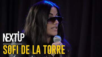 None - Next Up Artist of the Week: Sofi De La Torre
