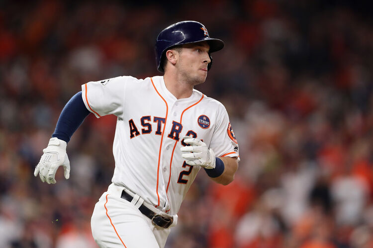 Alex Bregman Houston Astros Getty Images