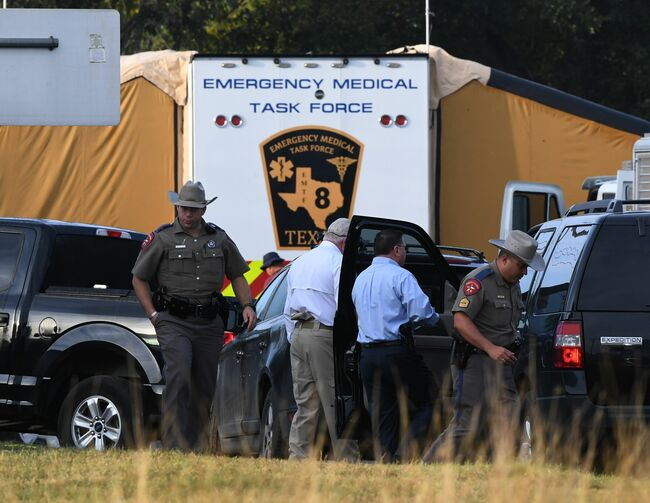 Church Shooting Sutherland Springs Texas 11 5 2017