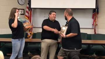 Teacher of the Month - Chris Shew - Fairland High School