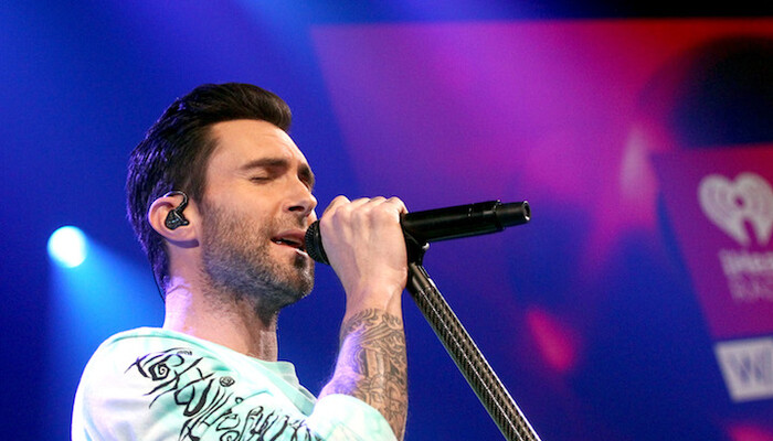 Inside Maroon 5's 'Red Pill Blues' Album Release Party on Channel 933