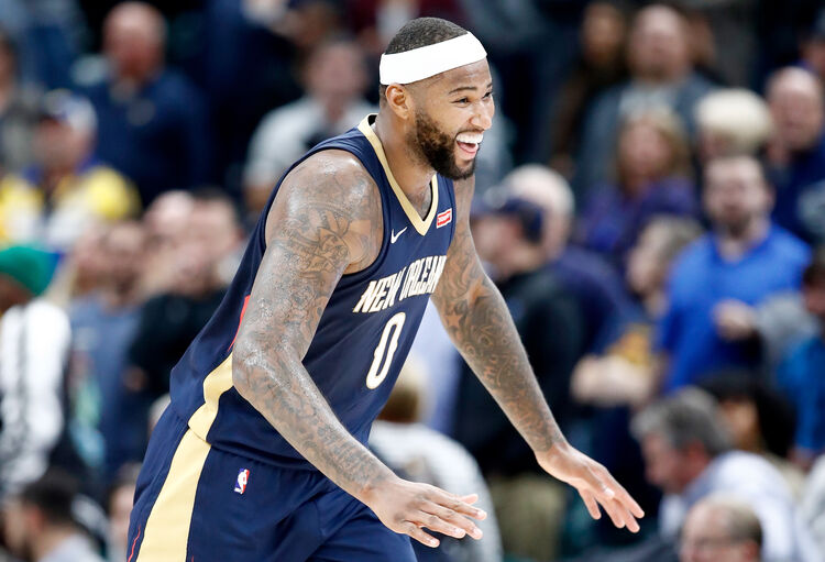 DeMarcus Cousins New Orleans Pelicans Getty Images