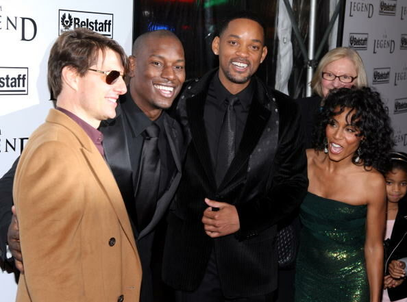Tyrese, Will Smith and Jada Pinkett-Smith - Getty Images