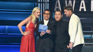 Bobby Bones - Bobby Has Taylor Swift's CMA Award Card For 'Song Of The Year'