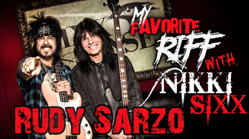 Nikki Sixx - My Favorite Riff with Nikki Sixx: Rudy Sarzo (Quiet Riot/Whitesnake/Ozzy)