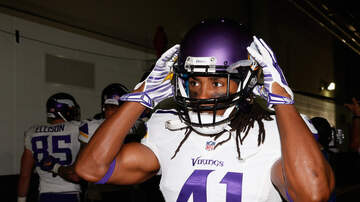 Allen's Page - #92Noon: #Vikings S Anthony Harris w/@PAOnTheMic!