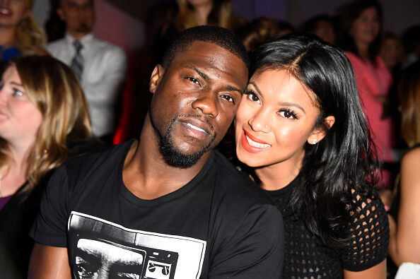 Kevin Hart and Eniko Parrish - Getty Images