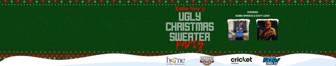 98.9 Radio Now's Ugly Christmas Sweater Party!