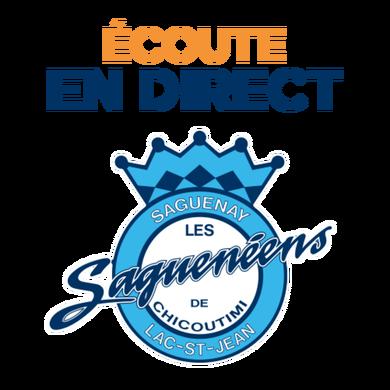 Le hockey des Saguenéens logo