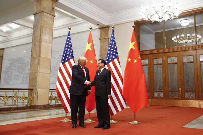 U.S. President Trump Visits China BEIJING, CHINA - NOVEMBER 9: