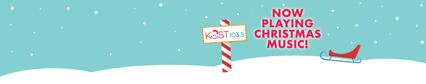 Listen To All Of Your Favorite Holiday Songs on KOST Right Now!