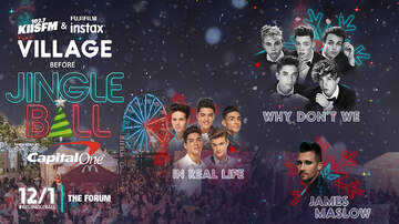 Jingle Ball - Why Don't We and More to Perform at #KIISJingleBall Village