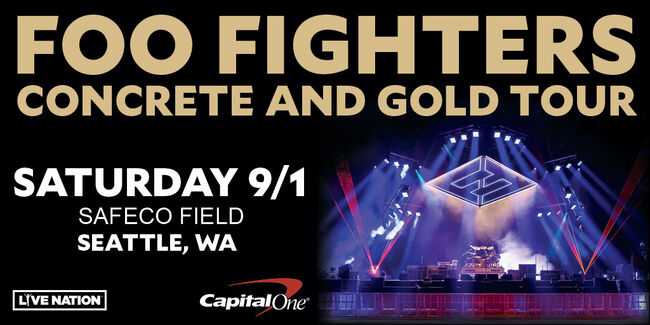 Foo Fighters Concrete And Gold Tour At Safeco Field Sep
