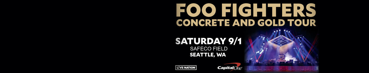 Thursday Ticket Takeover: Foo Fighters at Safeco Field