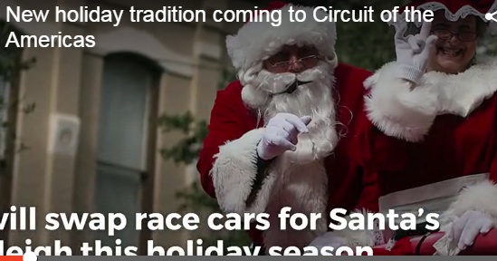 Circuit Of The Americas Christmas.Val A New Holiday Tradition Headed To Cota Val Santos