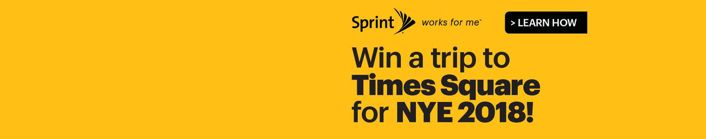 Sprint and Q102 Want To Send YOU To NYC for New Year's 2018!