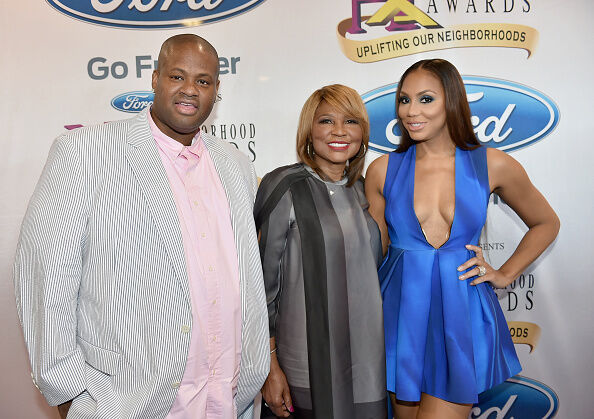 Tamar, Vince and Evelyn Braxton - Getty Images