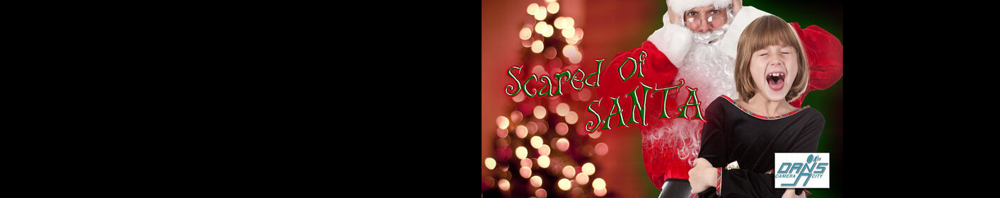 Submit Your Child's Scared of Santa Photo! Win a Kid-Friendly Prize Pack!