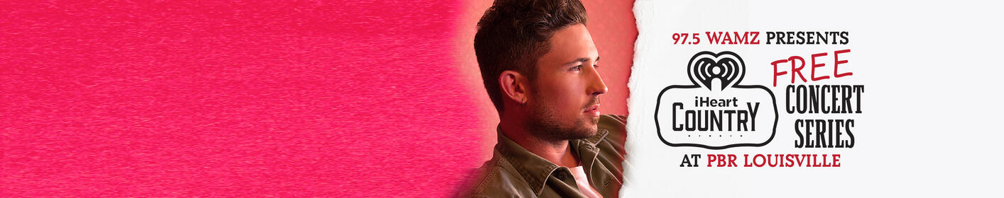 Michael Ray is playing a FREE show at PBR Louisville! Details here!