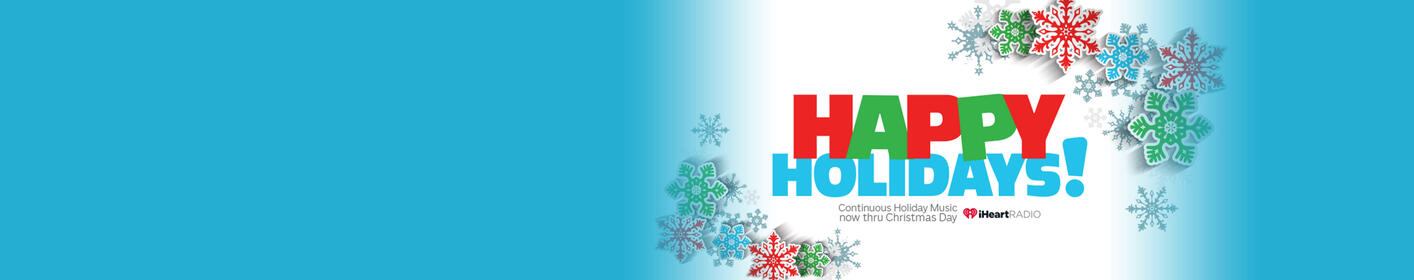 Enjoy all of your Christmas Music favorites all day long on 103.3 KLOU!