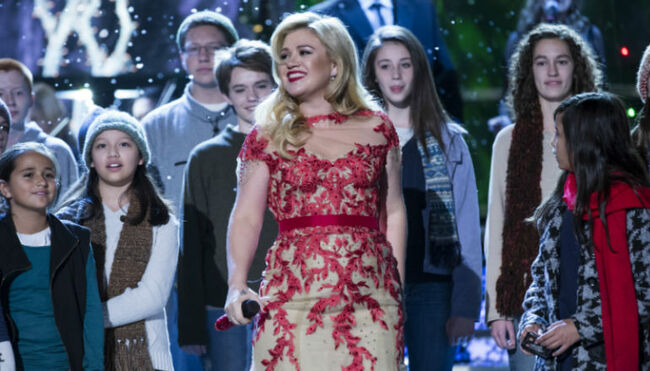 Channel Your Inner Kiddo With Kelly Clarkson & More On North Pole