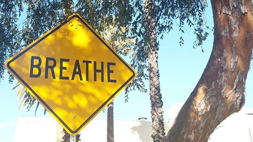 None - California Artist Posts 'Positive' Street Signs