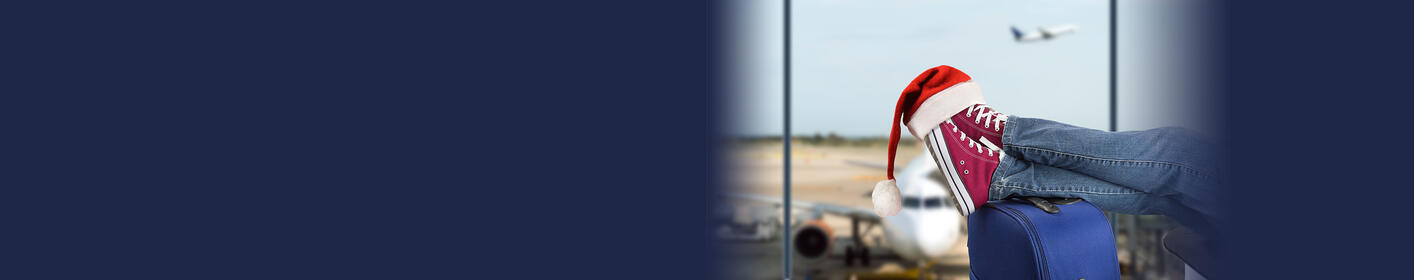 Fly Home For The Holidays! Enter two win round trip airfare for two.