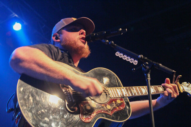 Luke Combs Performing at Fall Country Nights