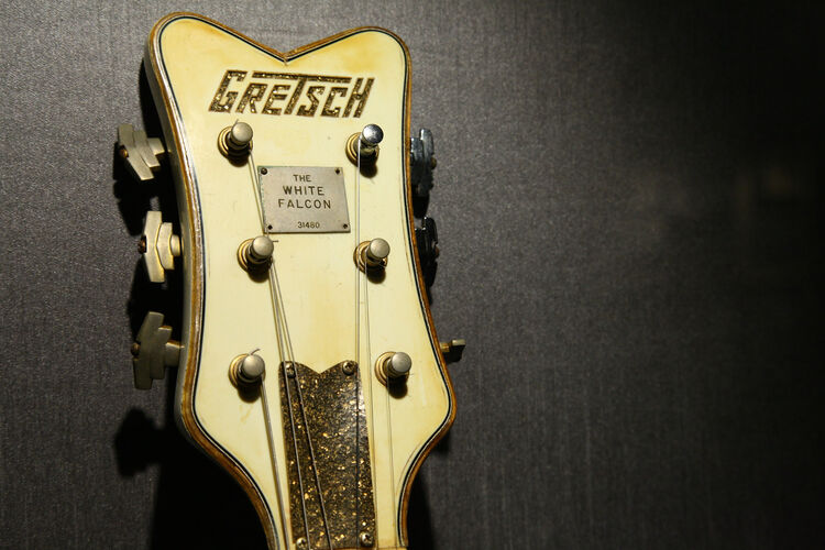 Malcolm Young's 1959 Gretsch White Falcon guitar