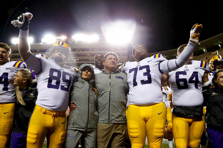 LSU Tennessee Getty Images