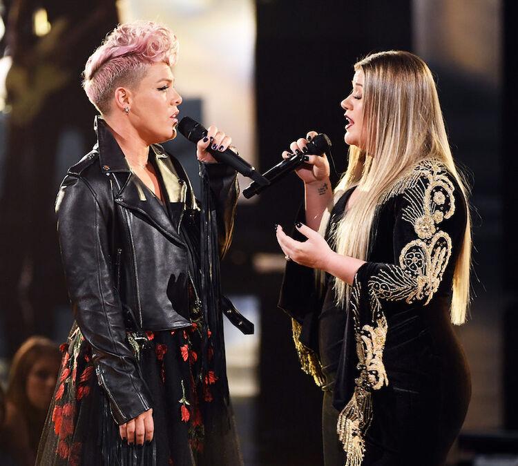 P!nk & Kelly Clarkson