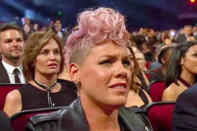 Pinks reaction