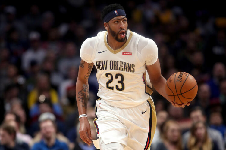 Pelicans Anthony Davis Getty Images