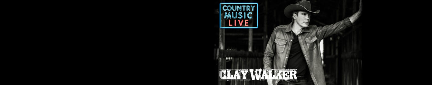 Win Tickets To See Clay Walker At 5:27PM Everyday With Bama Rob and Heather