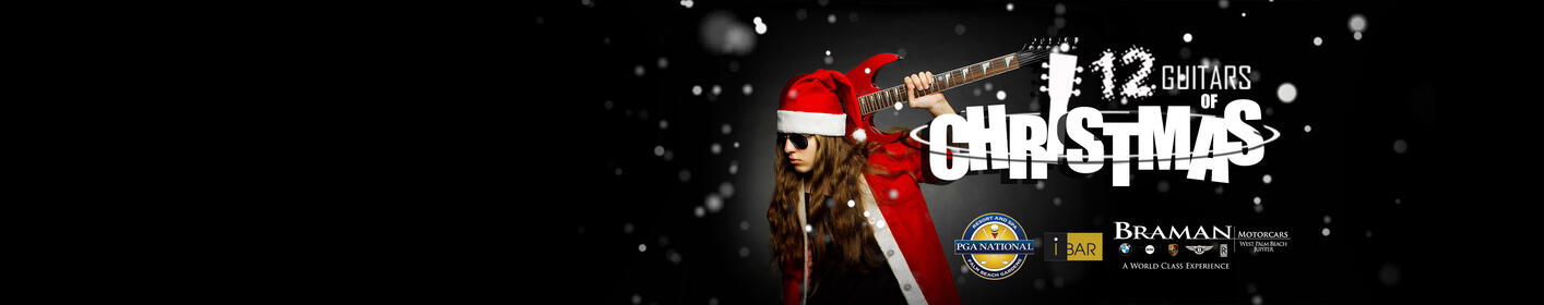 Gater 98.7 Is Ready To Rock The Holidays With The 14th Annual 12 Guitars of Christmas!