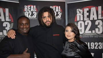 Real Show - PHOTOS:  J. Cole meets with REAL 92.3 winners