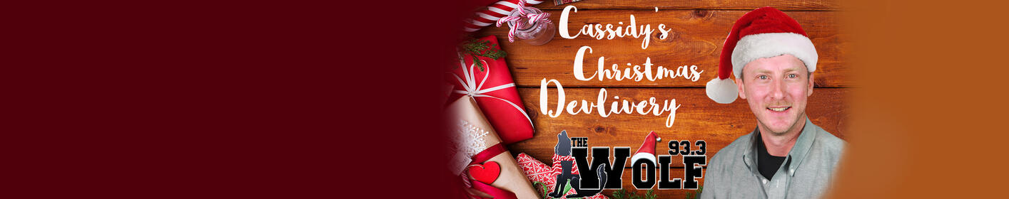 Register to receive a special Cassidy Christmas Delivery from our very own Ritch Cassidy!