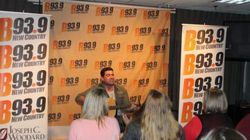Photos - PHOTOS: Josh Gracin on the Bedlam Vodka Sound Stage