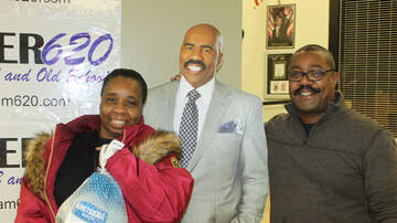 Photos - Steve Harvey Turkey Give Away (PHOTOS)