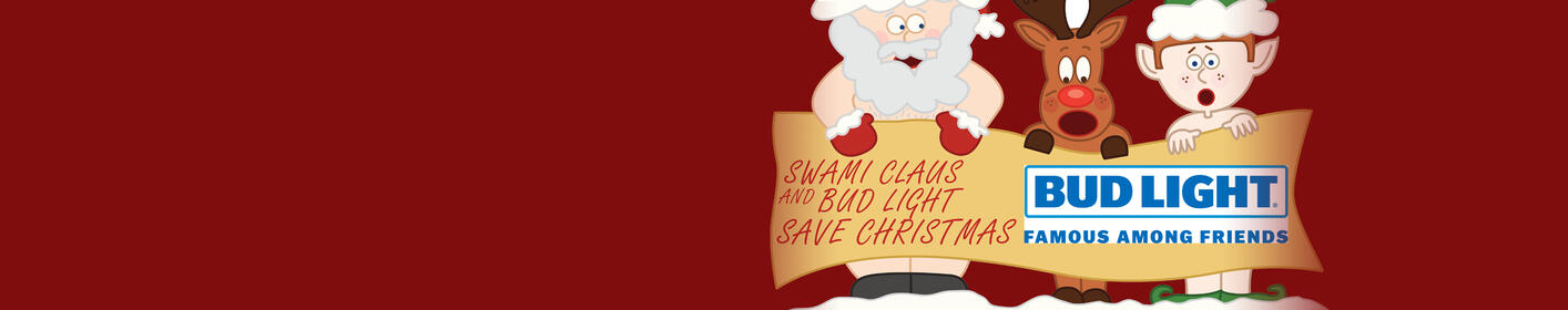 Swami Claus and Bud Light want to save your Christmas!