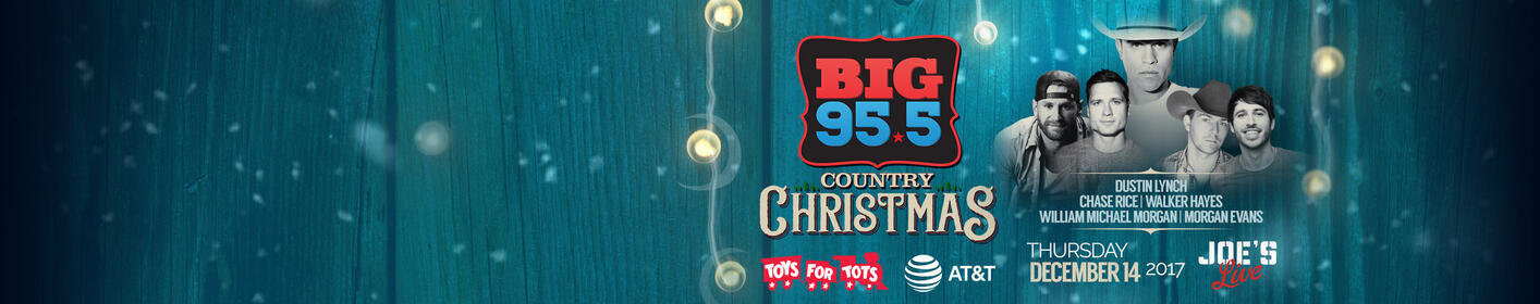 Enter to win tickets to the SOLD OUT BIG Country Christmas concert!