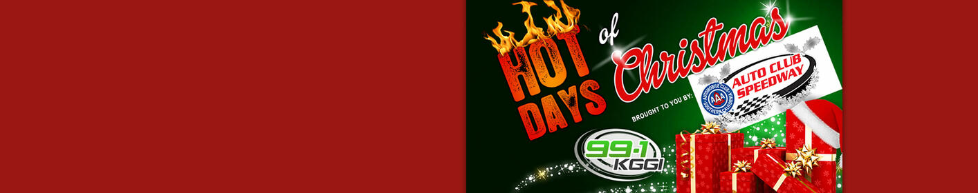 Win Prizes Each Weekday During Hot Days of Christmas!