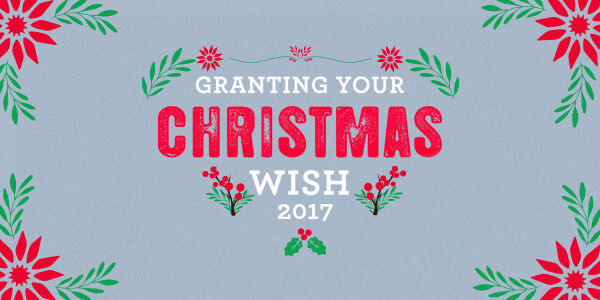 Let Us Grant YOUR Christmas Wish