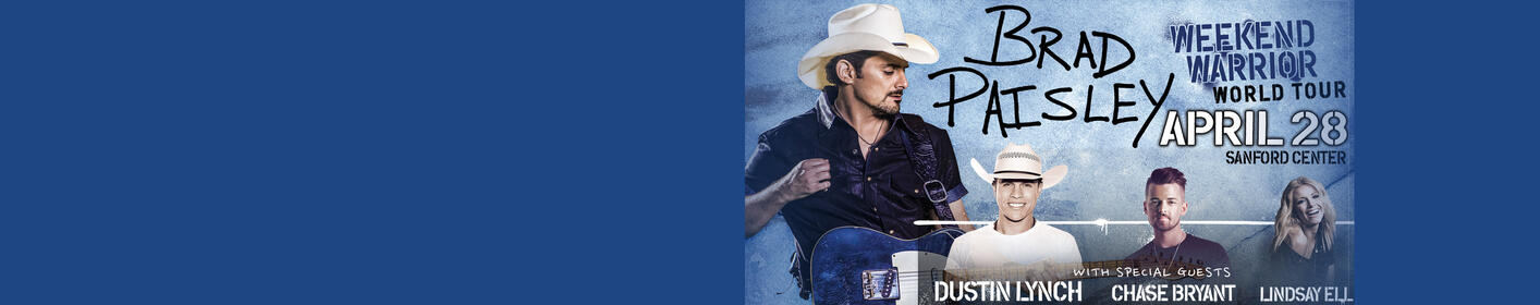 Brad Paisley Weekend Warrior Tour Live