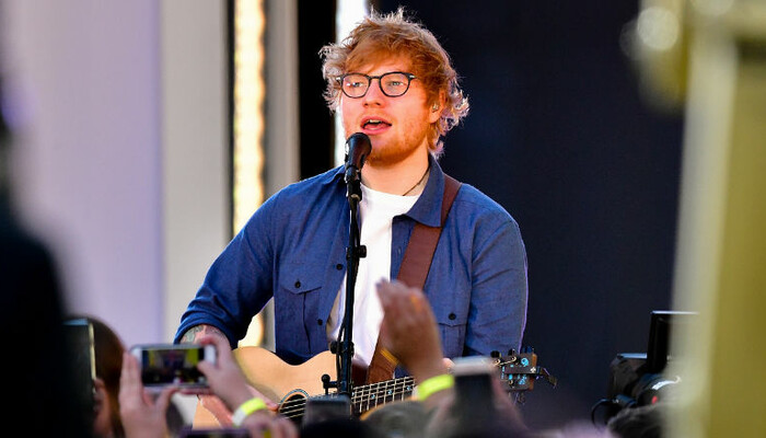 Ed Sheeran Celebrates Two Grammy Wins With Cute Cat Photo on STAR 94.1