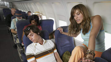 Weird News - Here's The Proper Way To Squeeze By A Sleeping Person On A Plane