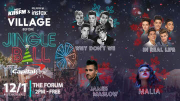 Jingle Ball - The #KIISJingleBall Village 2017 Lineup Is Here!