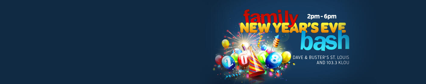 Join Billy at Dave & Buster's on New Year's Eve!