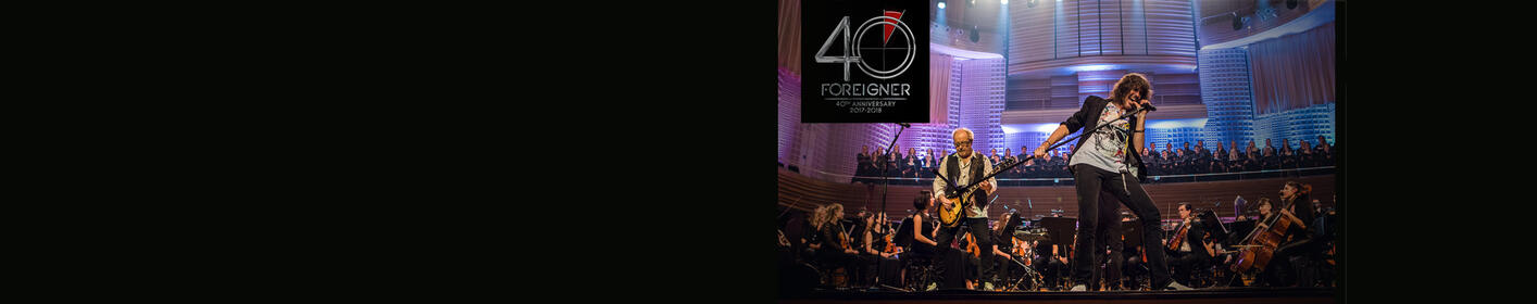 The Fox Presents... Foreigner Live with the Dave Eggar Orchestra