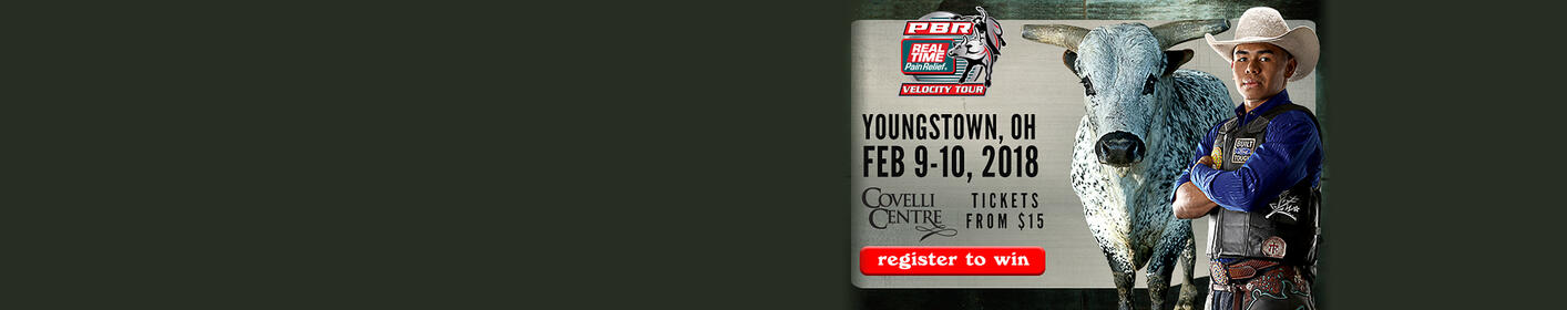 Register to win PBR tix for Covelli Centre!